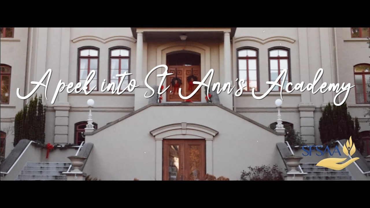 St  Ann's Academy 2020 Holiday Video