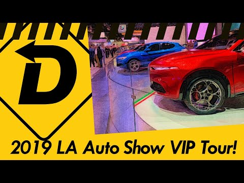 A Full VIP Tour Of The 2019 LA Auto Show!