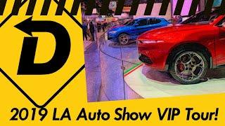 A Full VIP Tour Of The 2019 LA Auto Show!