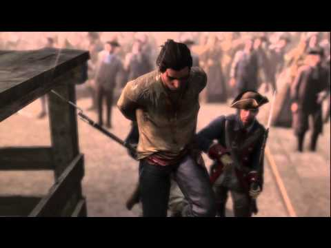 Assassin's Creed 3: Connor Hanged (Extremely Epic Moment In AC3)