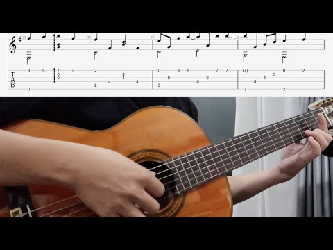 ENDLESS LOVE (THE MYTH OST) - GUITAR SOLO TAB