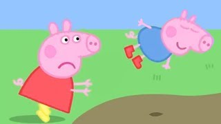 Peppa Pig Italiano -  Il super salto di George! | Cartoni Animati