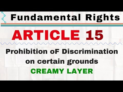 Article 15 of Indian Constitution in hindi | Fundamental Rights | Polity by Lakshmikant | UPSC SSC