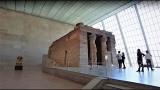 Metropolitan Museum Of Art Tour Part 1- Egyptian Temple And Collection [4K]