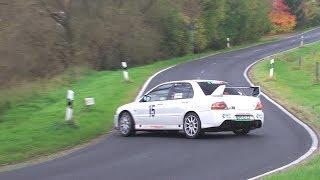 Best of  Mitsubishi Lancer EVO Rallye Action Sound - by Rallyeszene.de