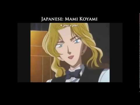 Detective Conan Multilanguage: The Voices Of Vermouth
