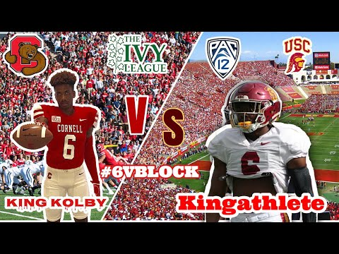 Day in the Life Of A USC Football Player vs A IVY DAY Of Life A Cornell Cornerback