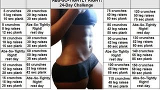 {16} ABS SO TIGHTLY RIGHT 24 DAY AB CHALLENGE..DOES IT WORK? PART 1..BLACK WOMEN DO WORK OUT