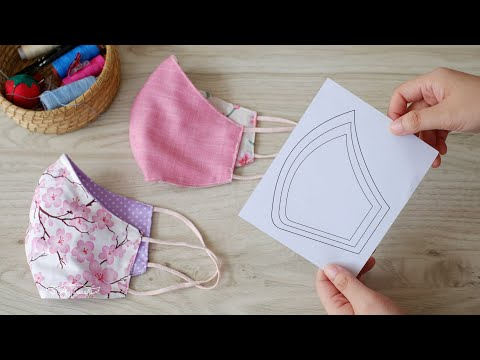 Easy Mask for Beginners with FREE Pattern Face Mask (Step-by-Step for Beginners) from YouTube · Duration:  4 minutes 53 seconds