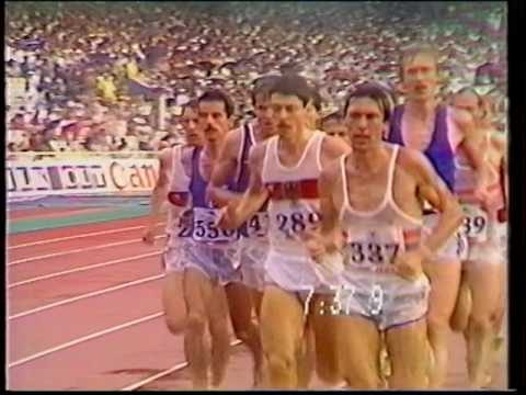 Thomas Wessinghage - 5000m Final, European Athletics Championships, Athens 1982.