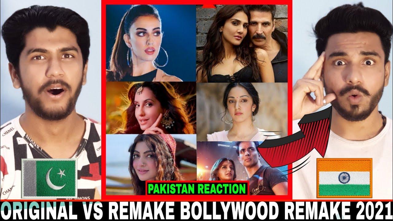 Pakistani React on Original vs Remake | Bollywood Original vs Remake songs 2021 | Hashmi Reactions