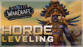 Horde Leveling! - Patron Choice | GOOD MORNING AZEROTH | World of Warcraft Battle For Azeroth