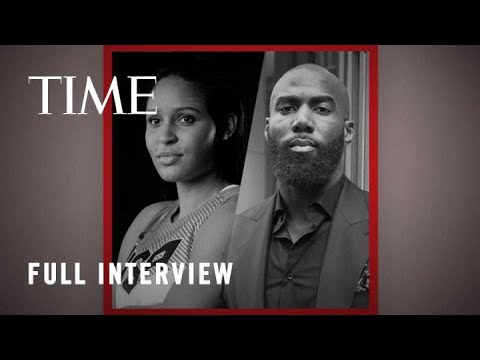 Malcolm Jenkins And Maya Moore | TIME100 Talks