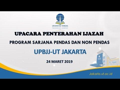 Upacara Penyerahan Ijazah Program Sarjana Pendas Dan Non Pendas UPBJJ-UT Jakarta