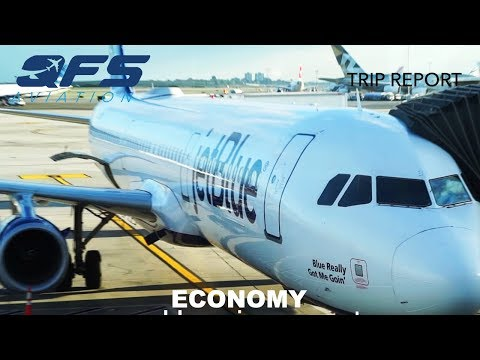 TRIP REPORT | JetBlue Airways - A321 - New York (JFK) to Sacramento (SMF) | Economy