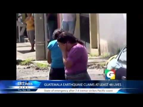 Guatemala earthquake claims at least 48 lives Warning! Contains graphic material