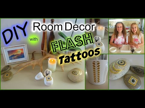 DIY Flash Tattoo Room Decor! Try This Out  SUPER EASY!