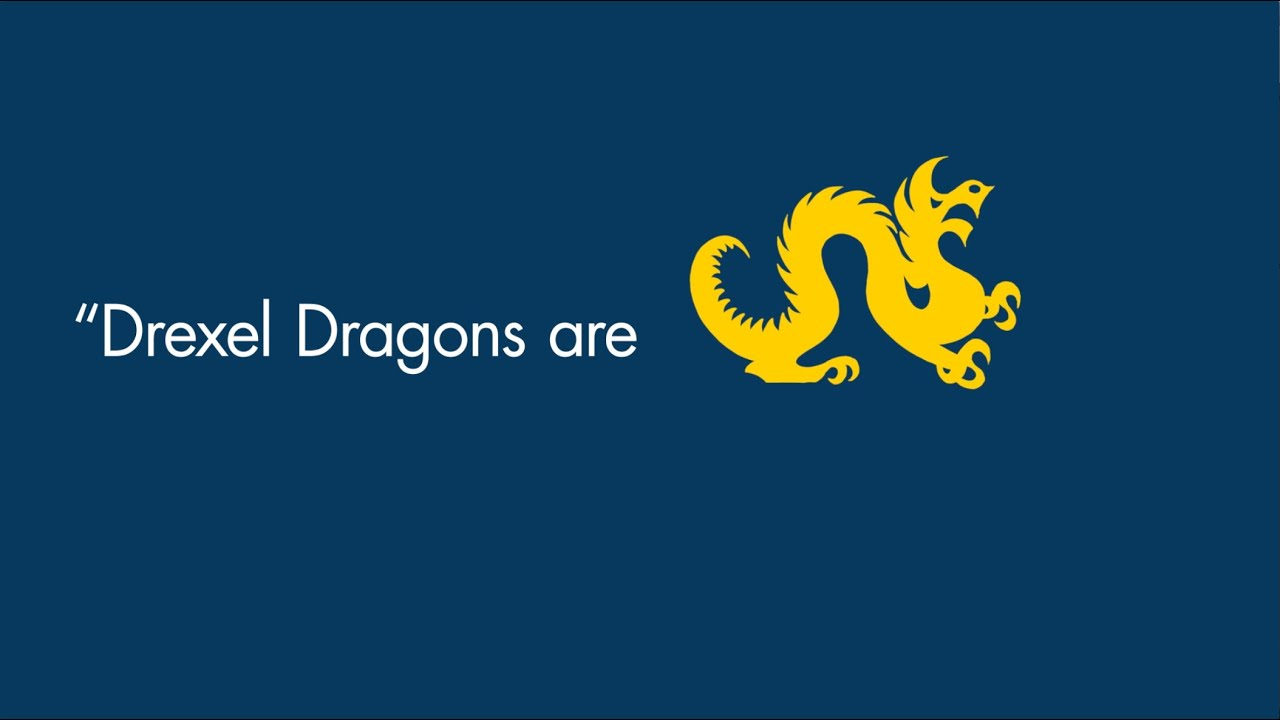 What it means to be a Drexel Dragon video