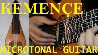 Tolga Zafer Özdemir - Microtonal Guitar & Kemençe - Hero ve Leandros