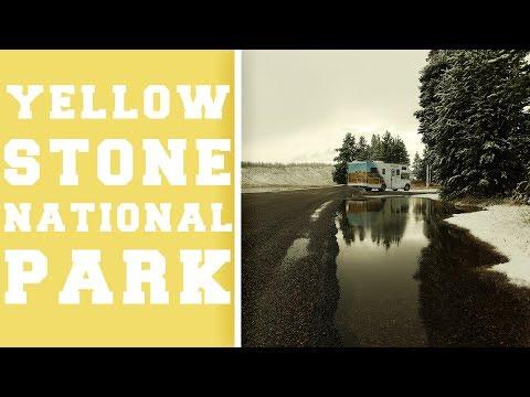 Yellowstone National Park - Wildlife und abgefrorene Zehen