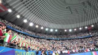 il pubblico di Roma ai Mondiali di Pallavolo femminile 2014 canta l