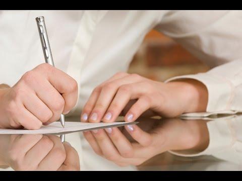 Как написать письмо о расторжении договора