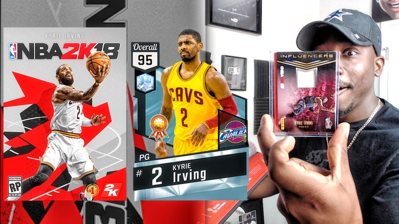 NBA 2K18 ROAD TO THE COVER KIT UNBOXING & 95 OVR DIAMOND KYRIE GIVEAWAY!
