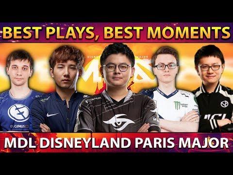 MDL Disneyland® Paris Major - BEST PLAYS, BEST MOMENTS - Aftermovie Dota 2
