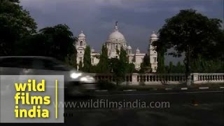 Victoria Memorial As Seen From Road - Kolkata