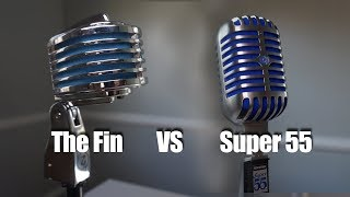 """Retro Cool Mics: Heil """"The Fin"""" and the Shure Super 55"""