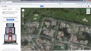 Google Maps: Capturar imágenes alta resolución. Free HD Video