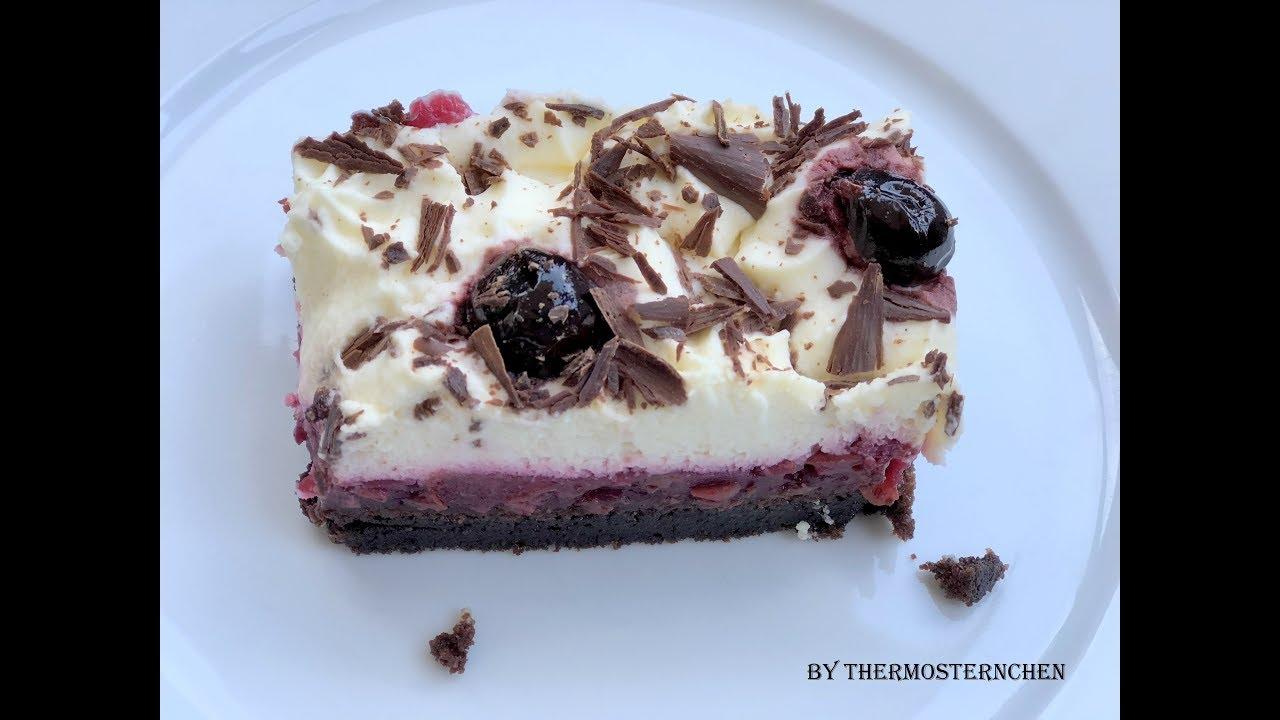 Thermomix Tm 5 Schwarzwalder Kirsch Schnitten Kuchen Torte