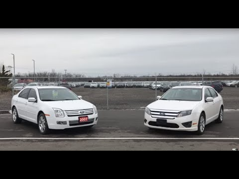 2006-09 VS 2010-12 Ford Fusion. The difference between 1st Gen and 1.5 Gen