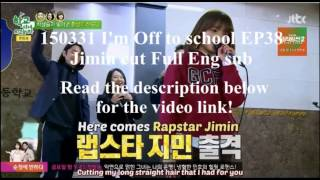 [ArmyOfAngels] 150331 I'm Off to School EP38: Jimin Cut (Eng. Sub)