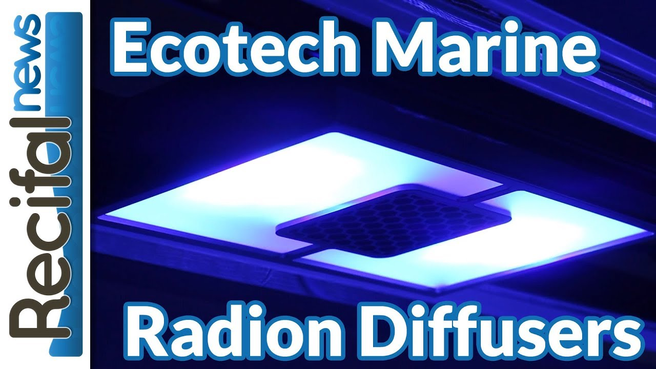 Ecotech Marine Radion Diffuser: set up and test - Récifal News