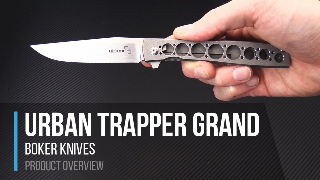 Boker Urban Trapper Grand Zinker Design Flipper Overview