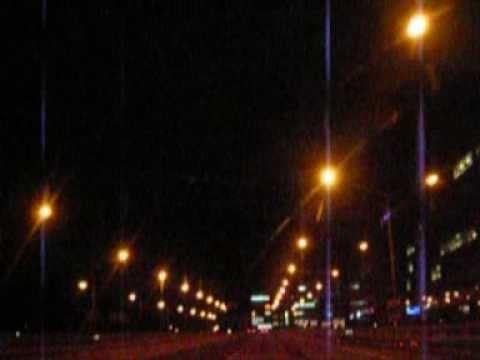 Helsinki Night Ride - Car CAM - Helsinki by night