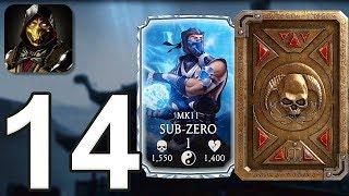 Mortal Kombat Mobile - Gameplay Walkthrough Part 14 - MK11 Sub-Zero (iOS, Android)