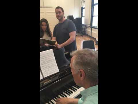 Carousel Vocal Rehearsal