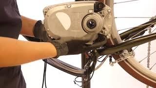 Comment changer le câble display moteur sur un vélo électrique Elops 920e ?