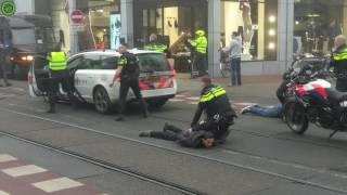Politie - Aanhouding in Amsterdam