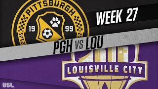 Pittsburgh Riverhounds vs Louisville City FC: September 15, 2018