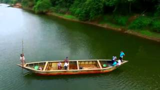 Manjammadu River Aerial View   Phantom 3 Quad-Copter Footage