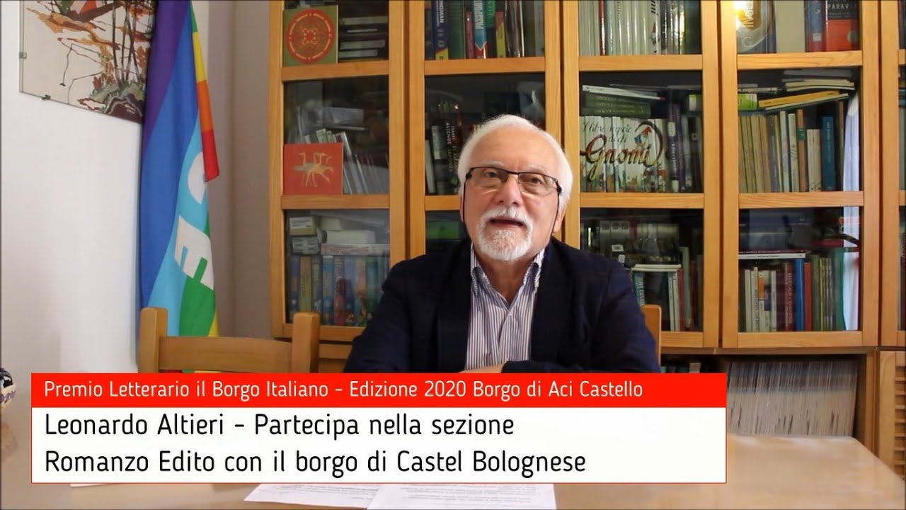 Leonardo Altieri per Castel Bolognese su Premio Letterario il Borgo Italiano TV