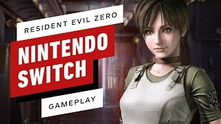 The First 14 Minutes of Resident Evil Zero on Nintendo Switch - Gameplay