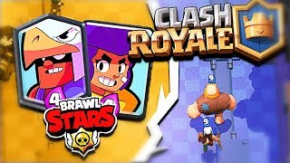 Clash Royale NEW TROOPS!? - Clash Royale Brawl Stars Challenge