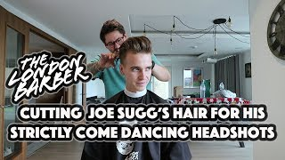 CUTTING JOE SUGG'S HAIR FOR HIS STRICTLY COME DANCING HEADSHOTS!