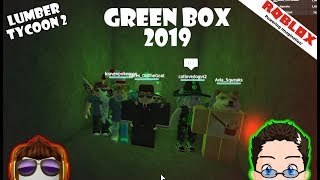 Roblox - Lumber Tycoon 2 - I gave then entire server the Green Box