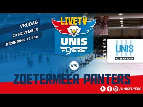 Live! Unis Flyers - Zoetermeer Panters vrijdag 20 november 2015
