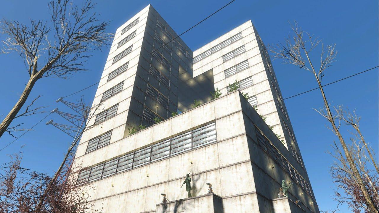 Mod Remove Fallout  Settlement Building Limit
